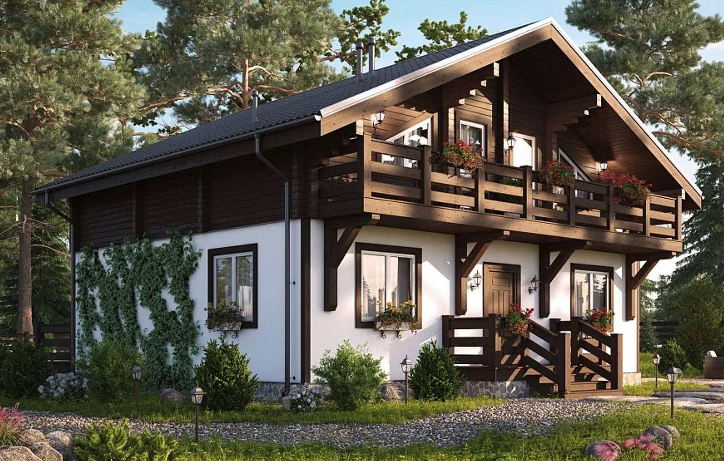 10 проектов недорогих домов