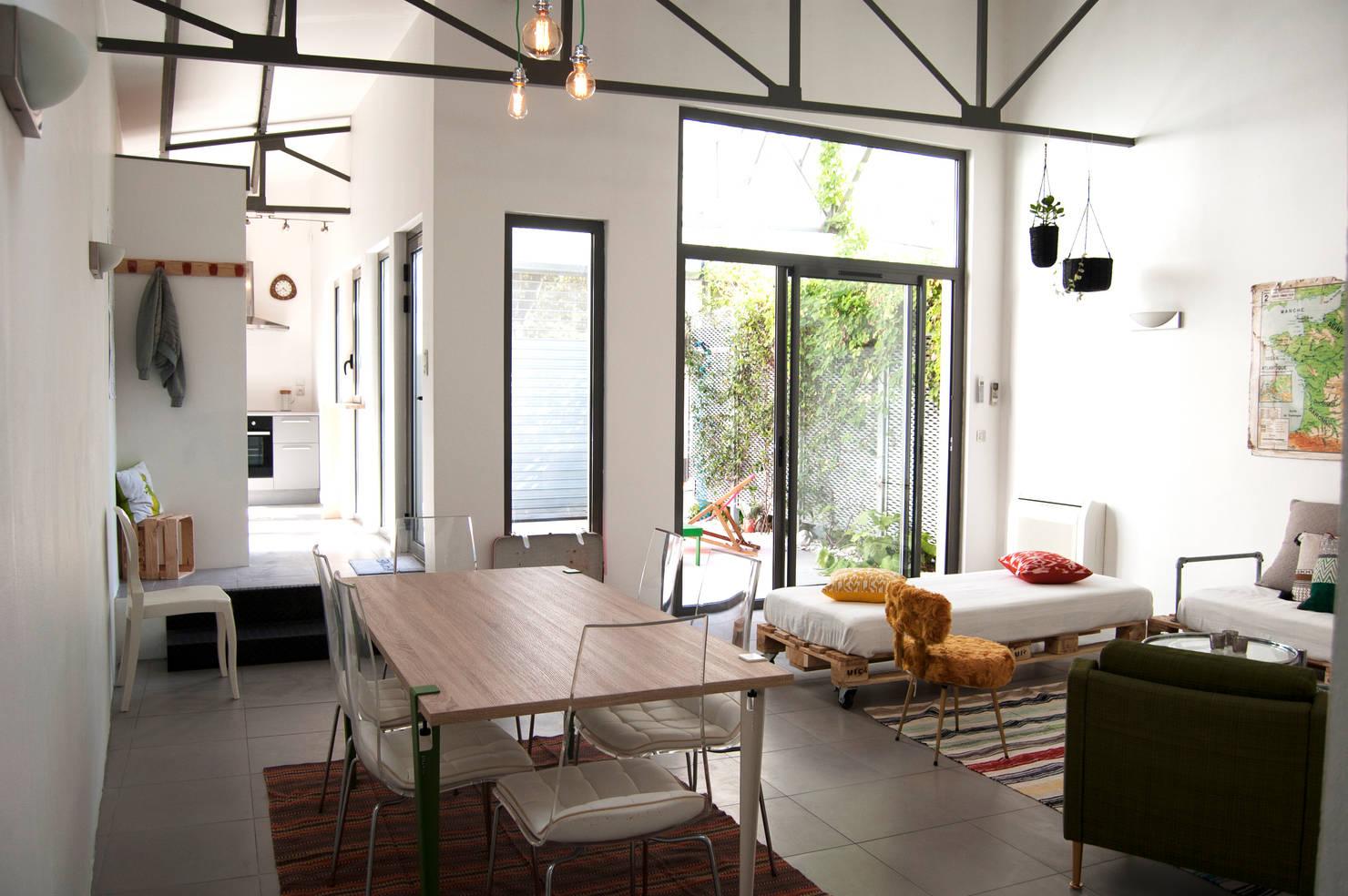 Un appartement cosy au look vintage à Bordeaux