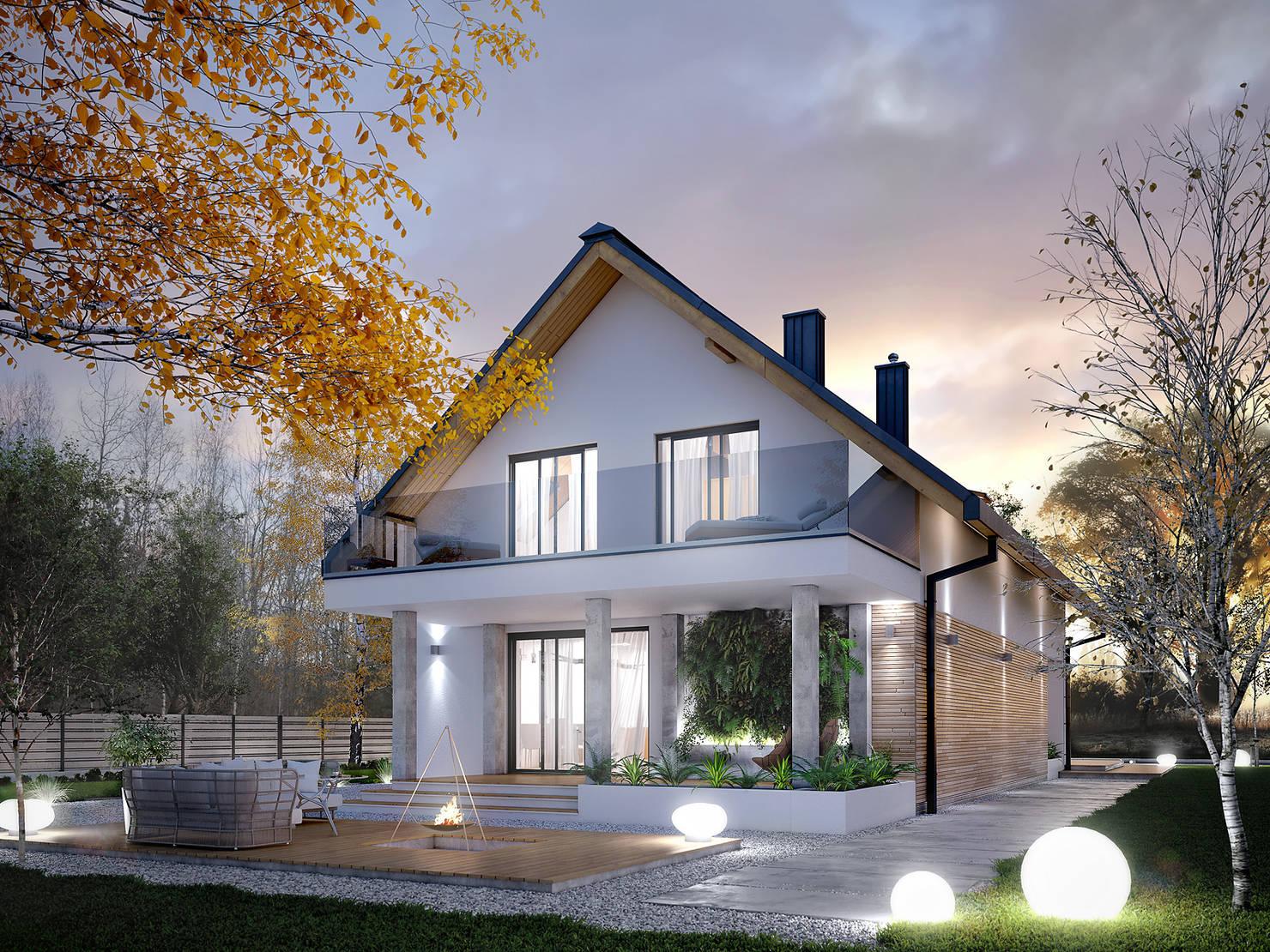 Çocuklu aileler için 150 metrekarelik rüya gibi bir ev