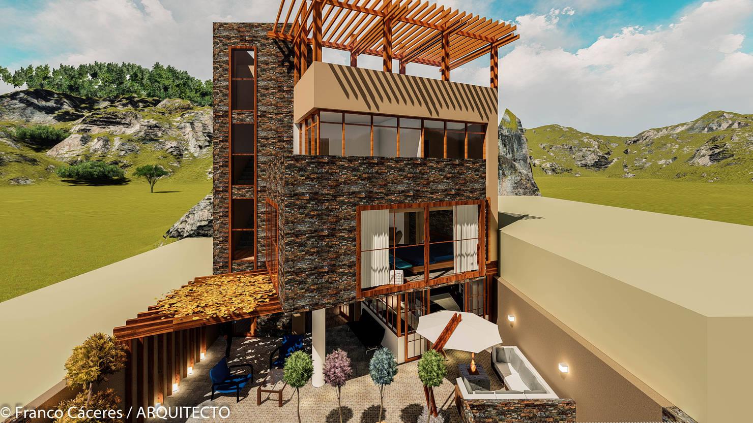 Construcción de casas sustentable con materiales reciclados