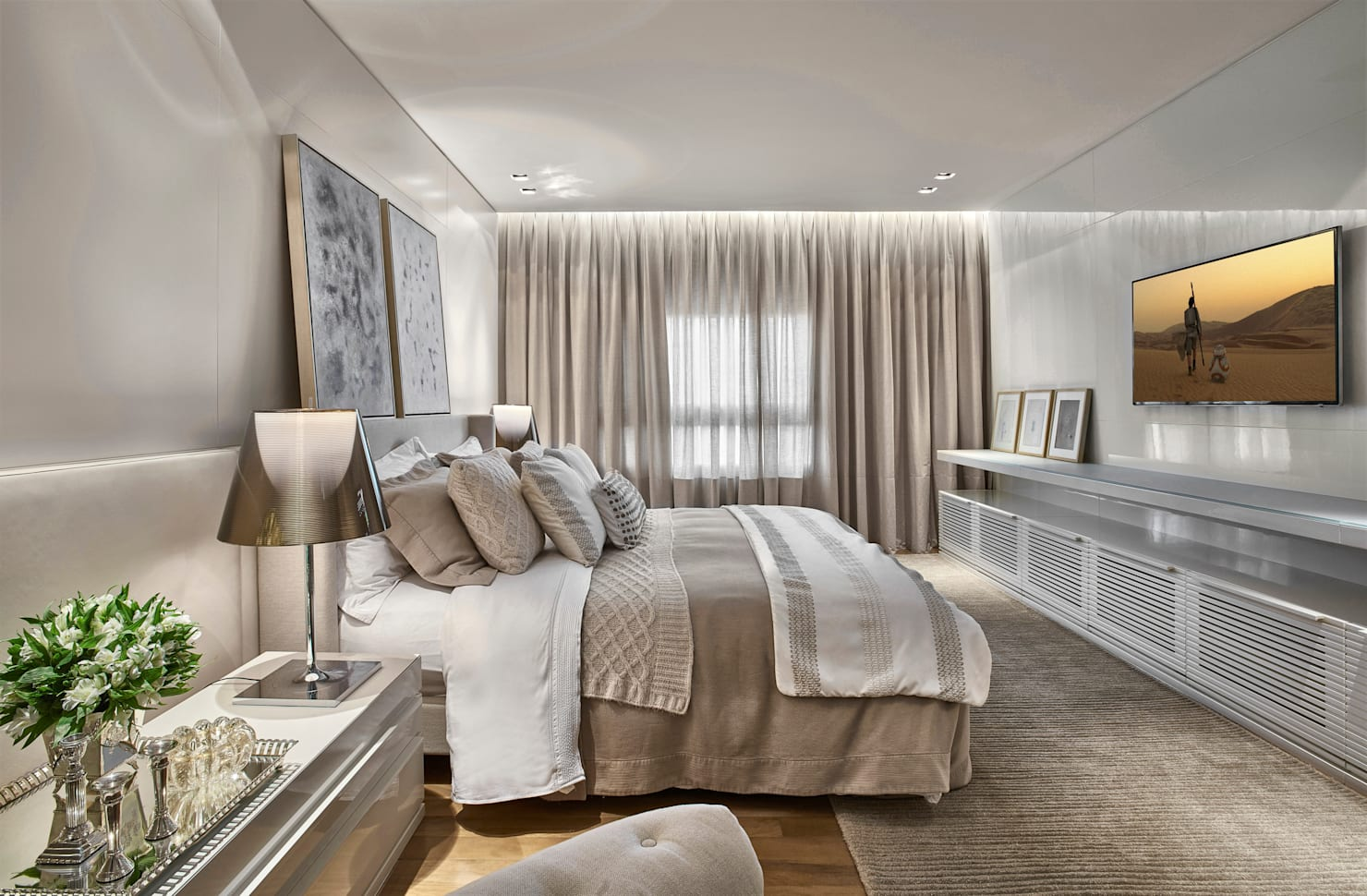 Neutral and nice: a home that exudes natural charm