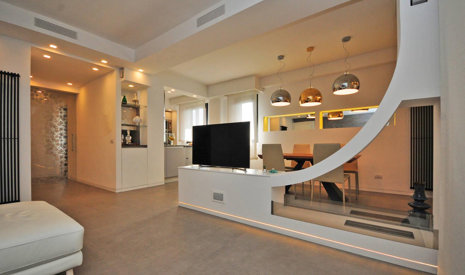 Потрясающий дизайн итальянской квартиры площадью 100 м2