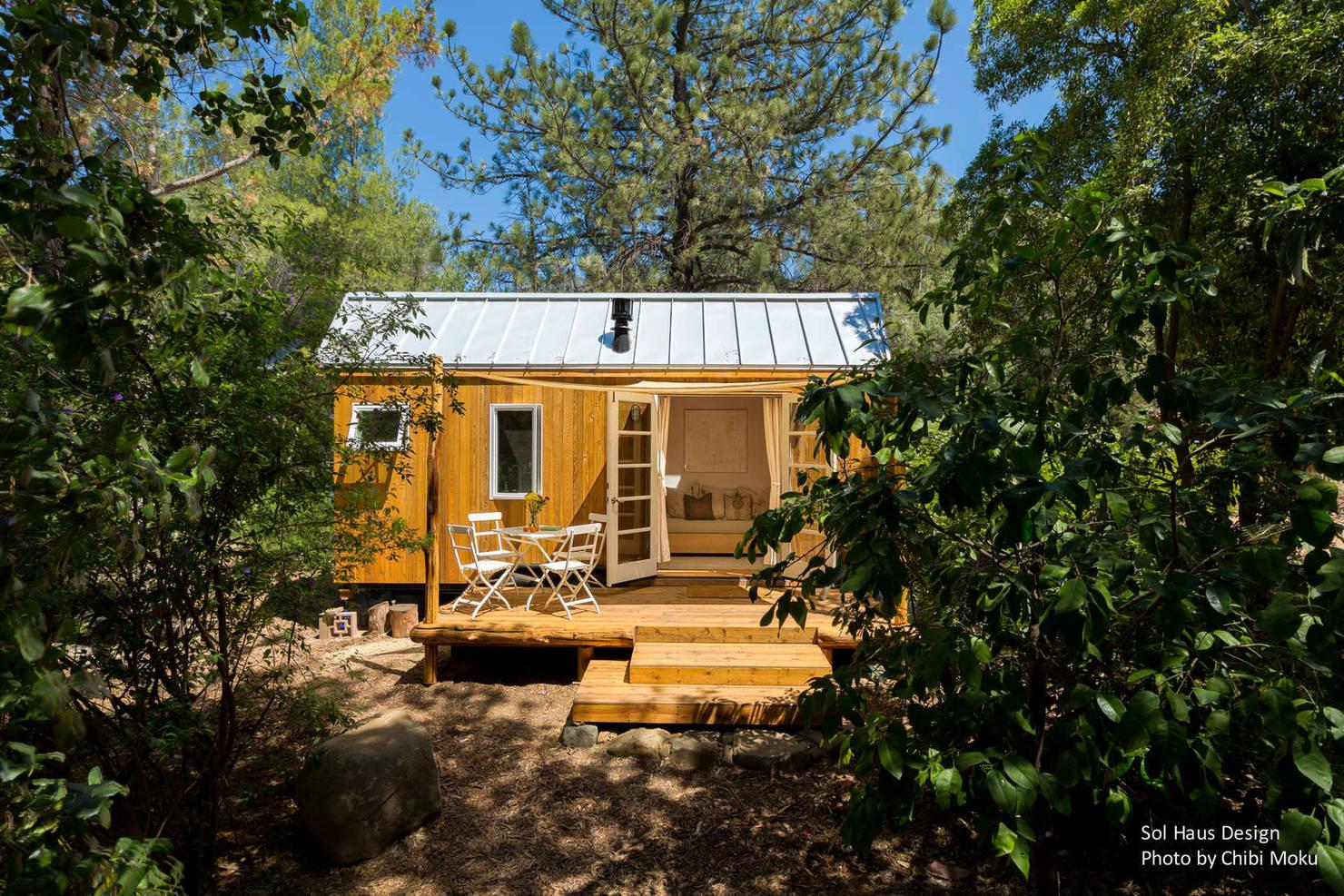 Mini-Haus ganz groß: Glücklich leben auf 42 Quadratmetern