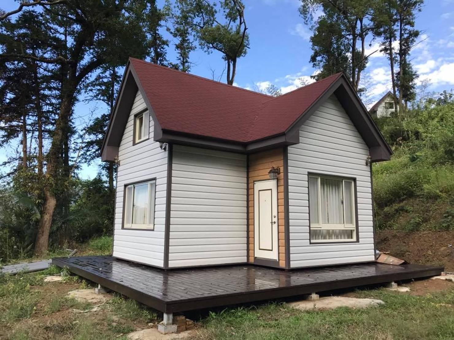 Маленький дачный дом, в котором есть все, что вам нужно