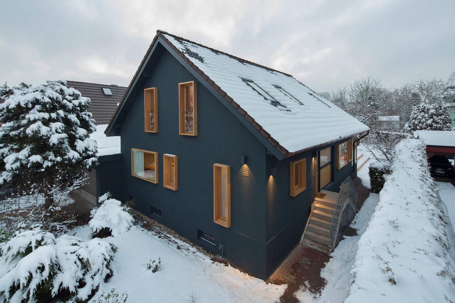 Стильный дом в скандинавском стиле