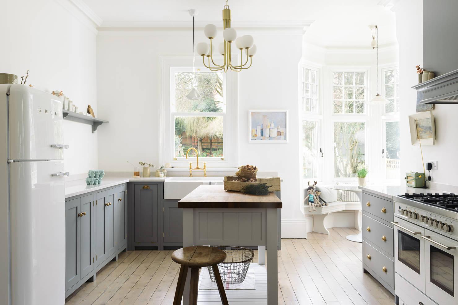 8 фантастических кухонь площадью 12 м²
