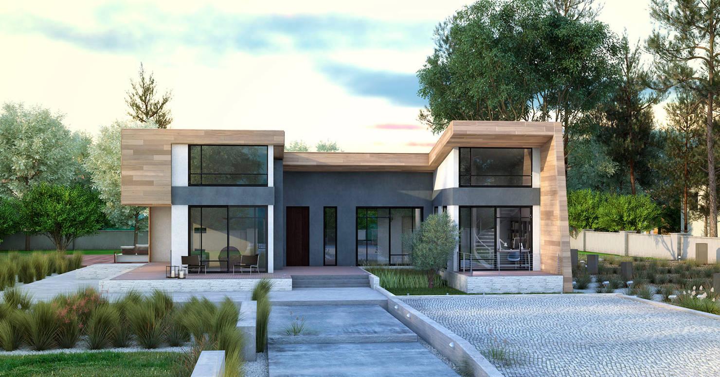 Современный деревянный дом за 6,5 млн