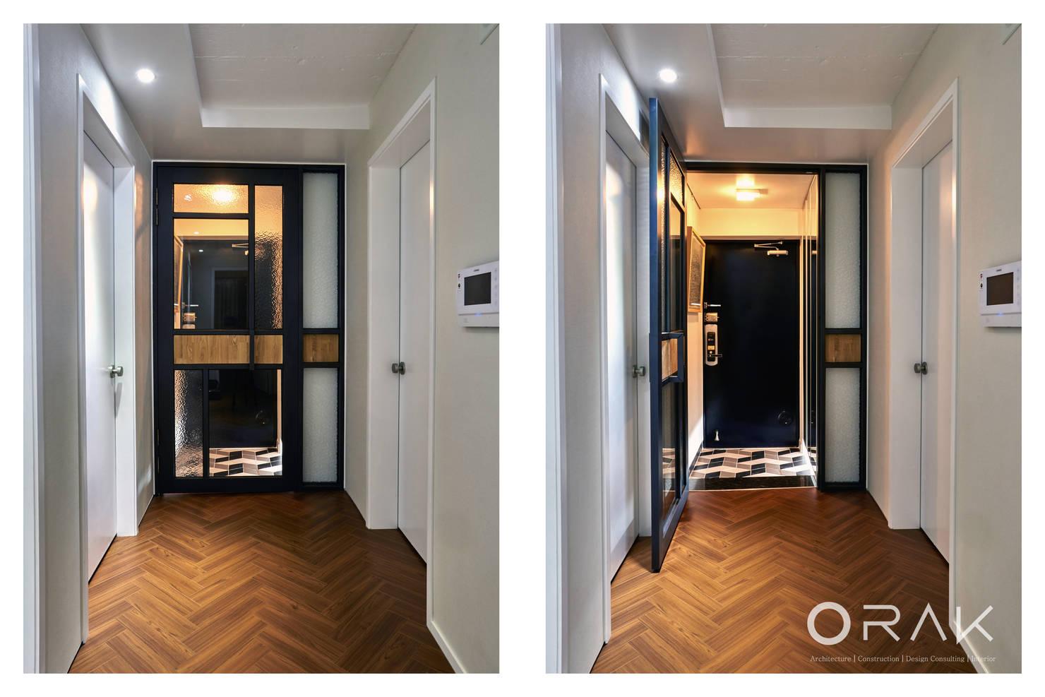 향긋한 책 향기와 가정의 온기로 채운 35평 아파트 인테리어