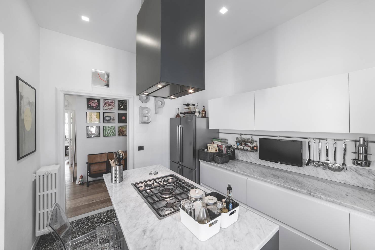 Современная квартира в белом цвете: 20 фото для вдохновения