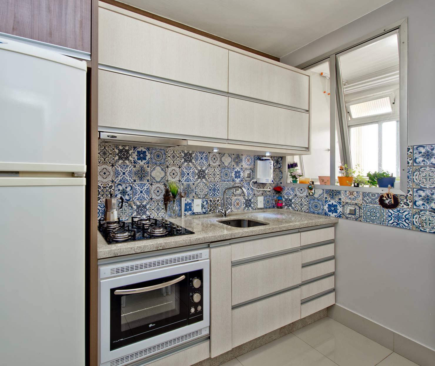 10 backsplashs (revestimentos na parede entre pia e armário) lindos para sua cozinha