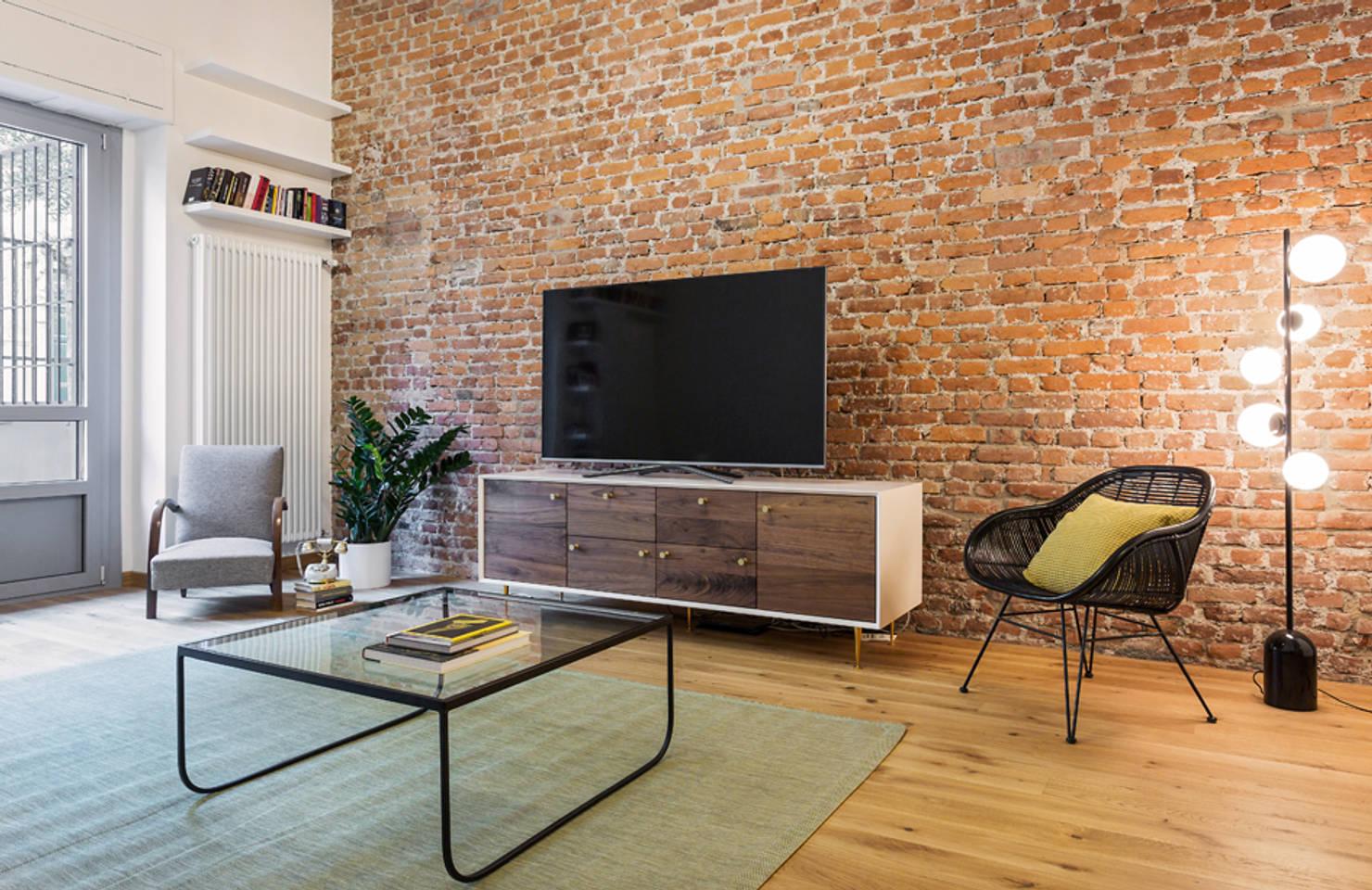 100 m² Pieni di Idee Fresche per una Giovane Coppia