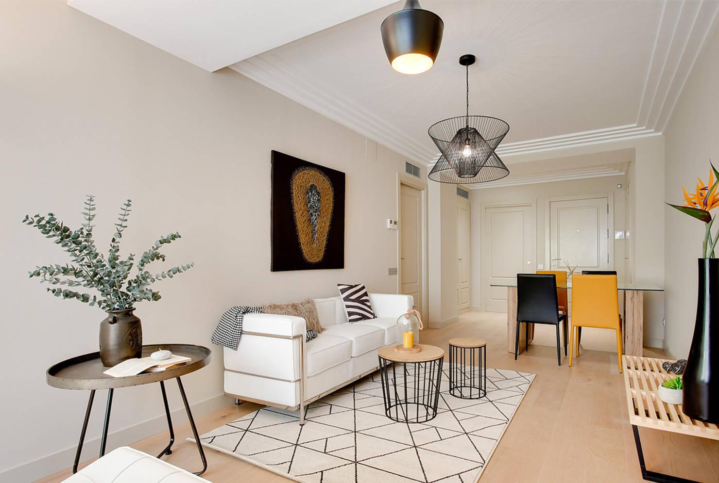Un piso de 70 m² en Barcelona que enamora a cualquiera