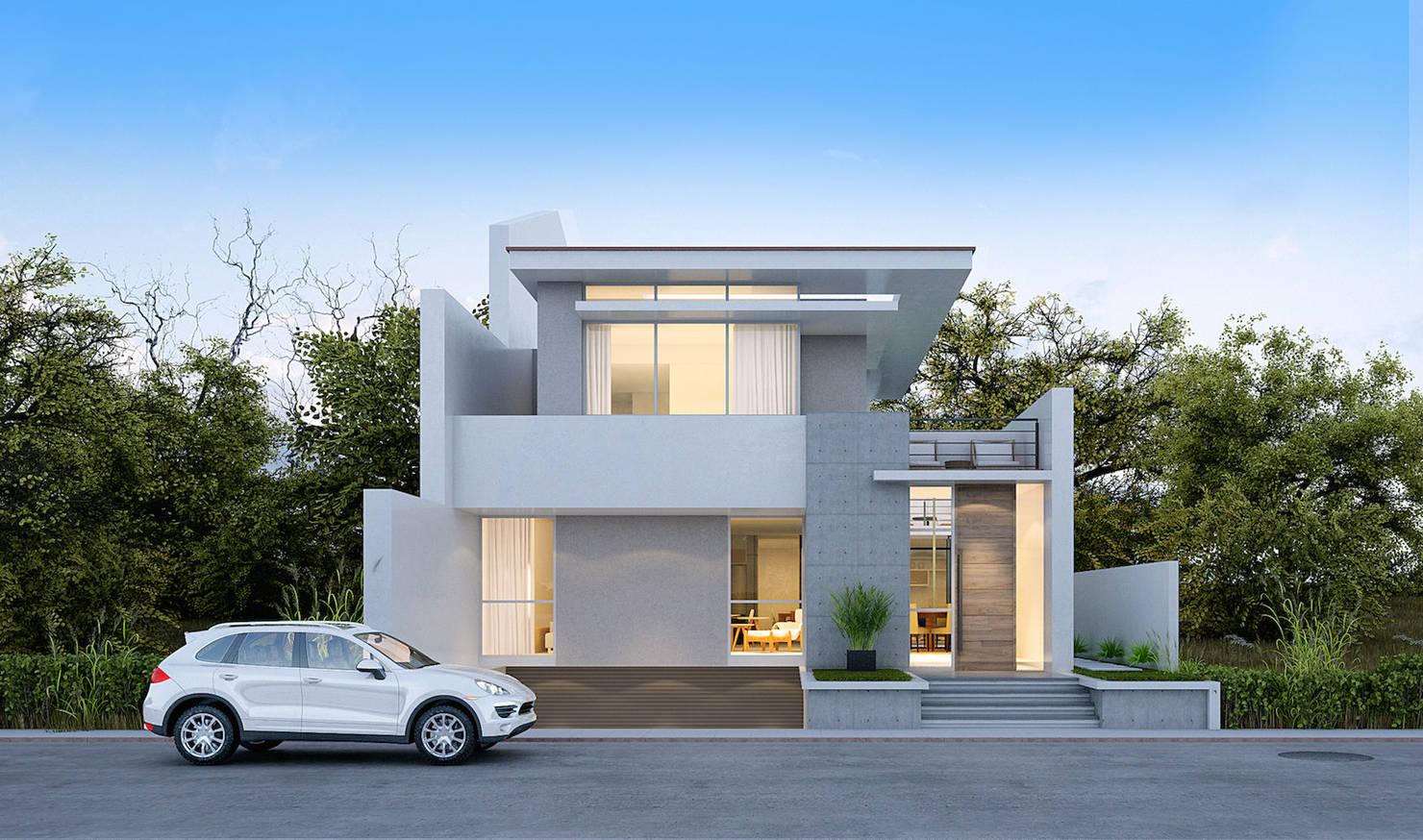 9 projetos de fachadas que vão te inspirar a fazer a sua