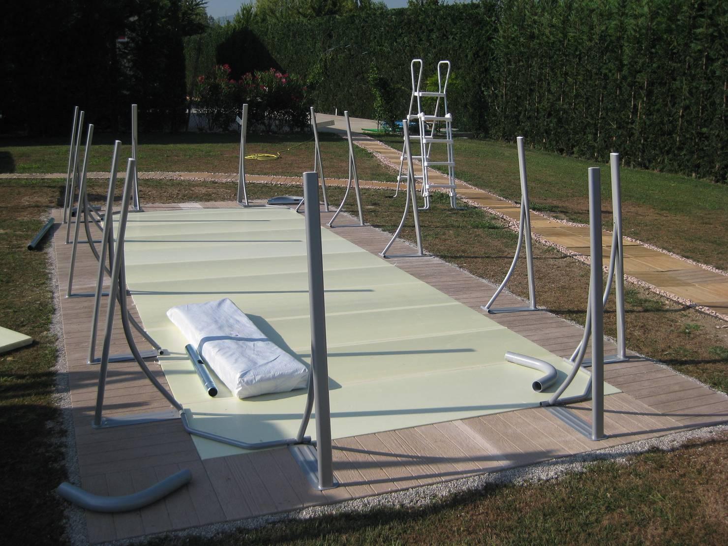 La construcción de una piscina que costó 6.200 euros paso por paso