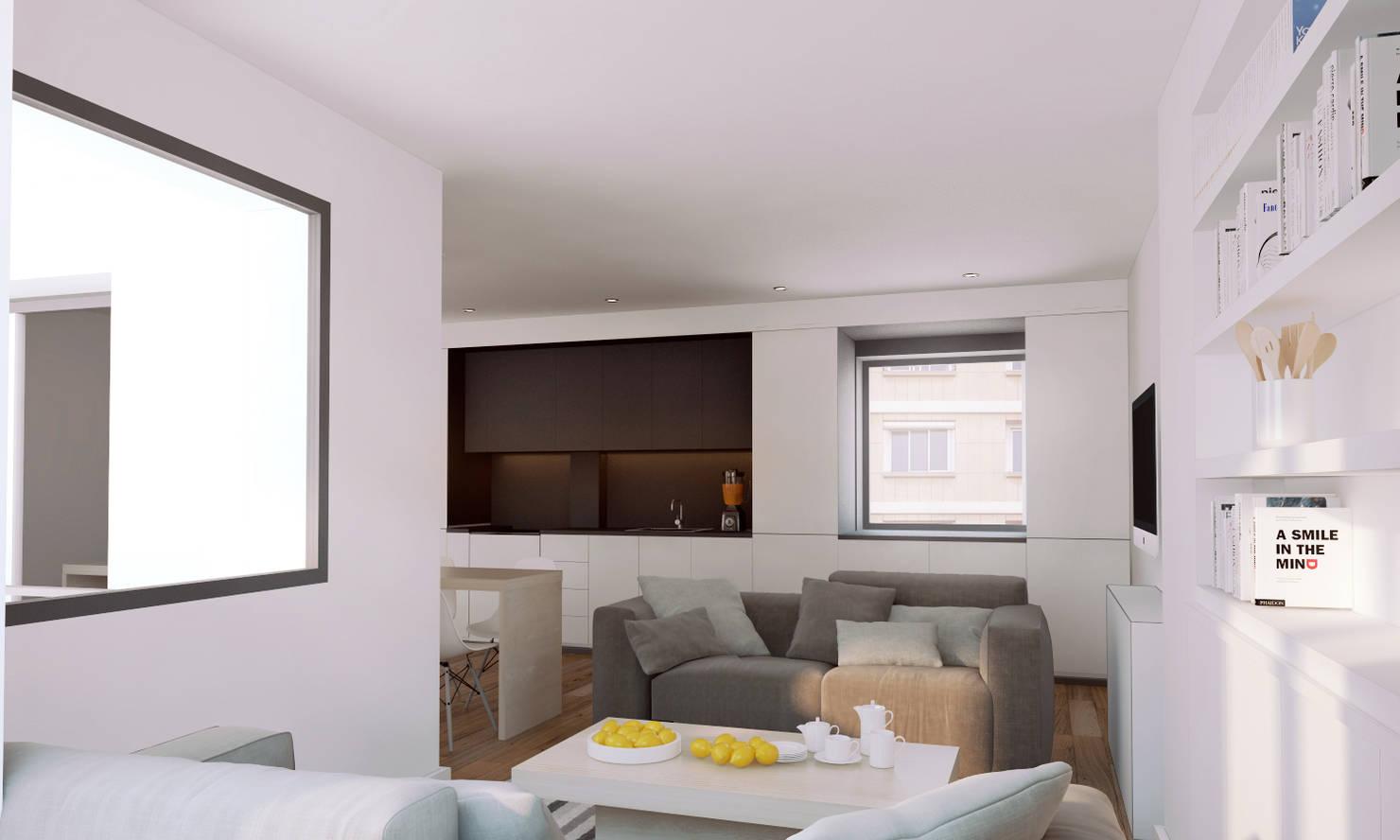 La perfección en Barcelona en 50 m²