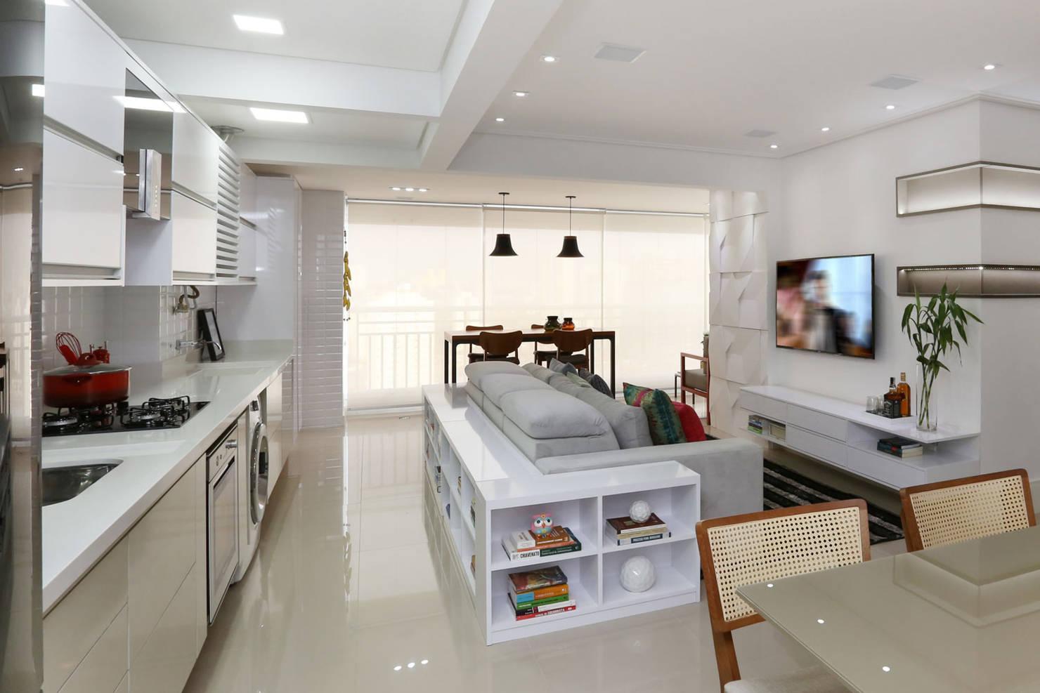 9 espaços integrados que você pode ter em casa