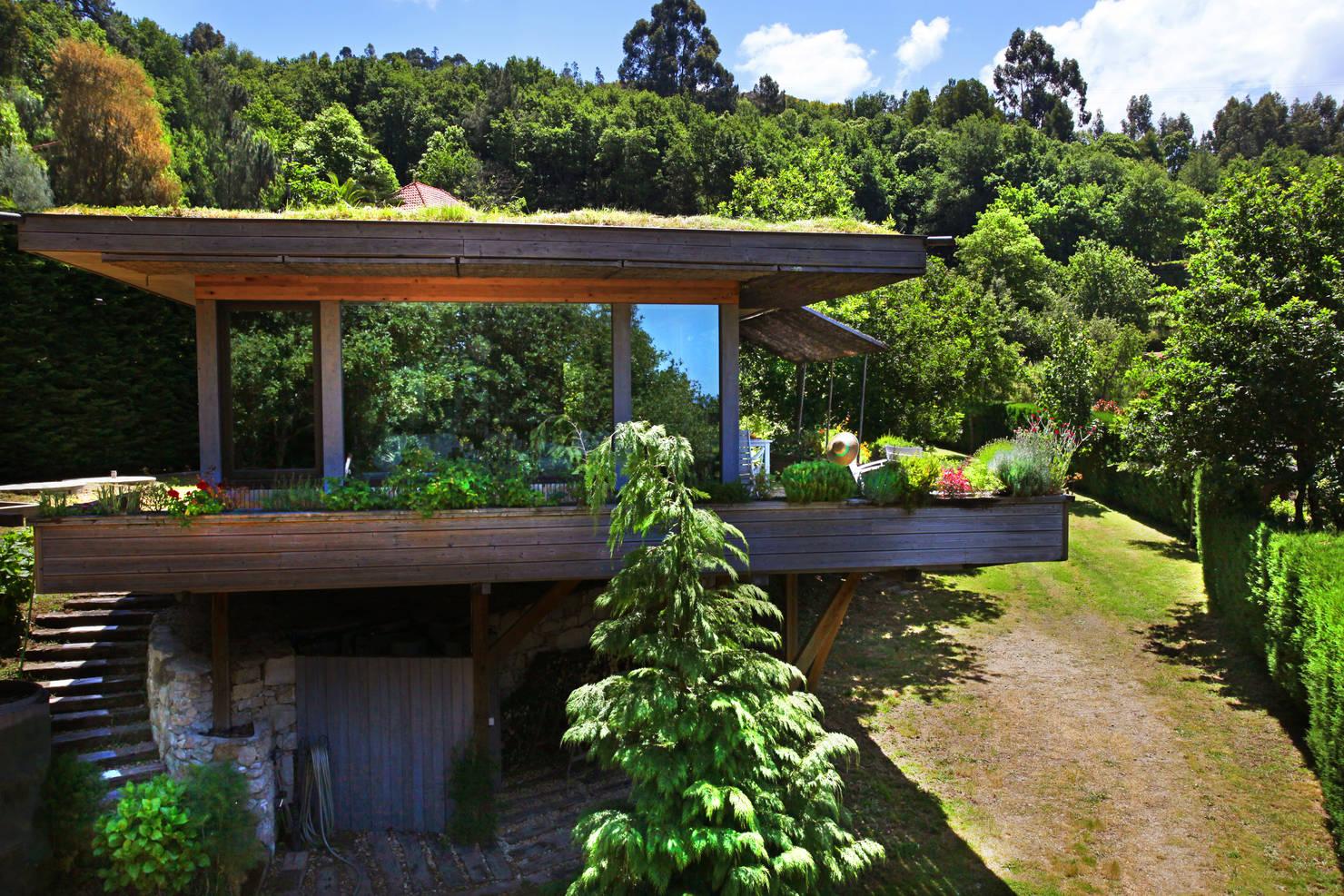 Rústica E Incrível: Veja Esta Casa Construída Em Meio À Natureza