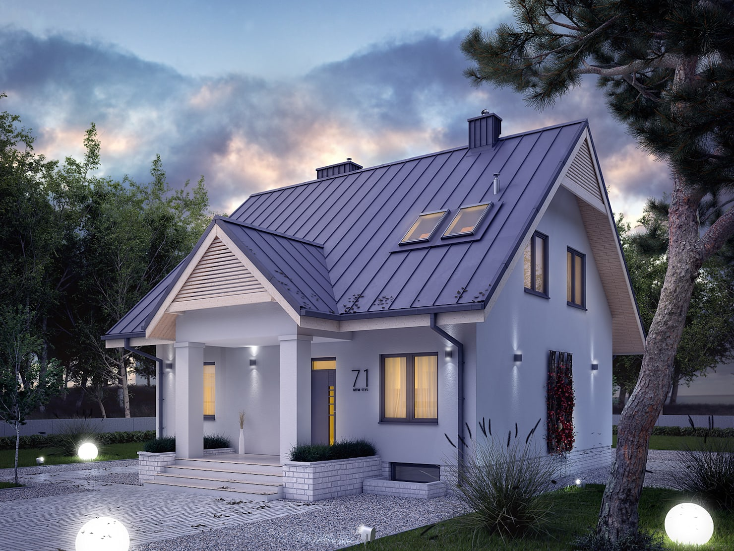 Отличный проект загородного дома