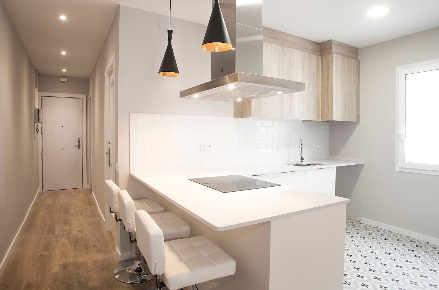 Colores neutros para un piso en Barcelona ¡perfecto!