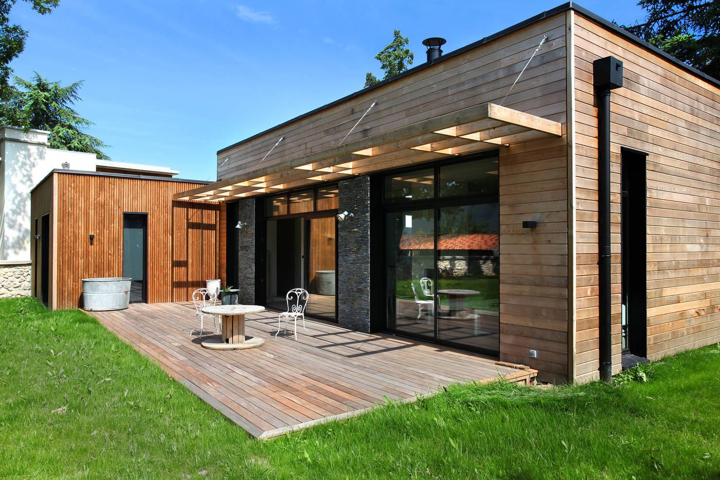 Деревянный дом нового уровня