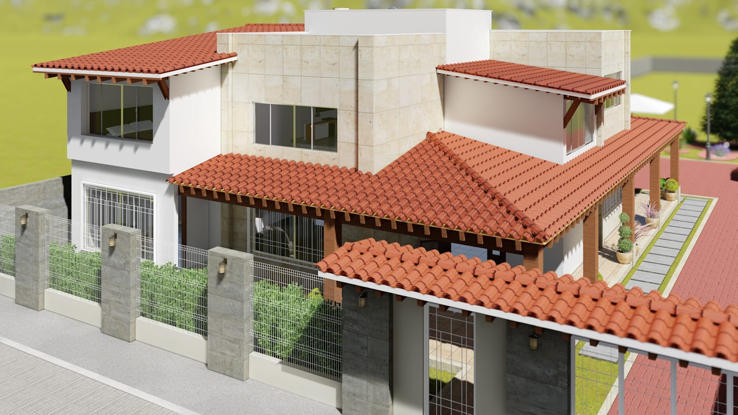 Una casa moderna con toque tradicional ¡te va a encantar!