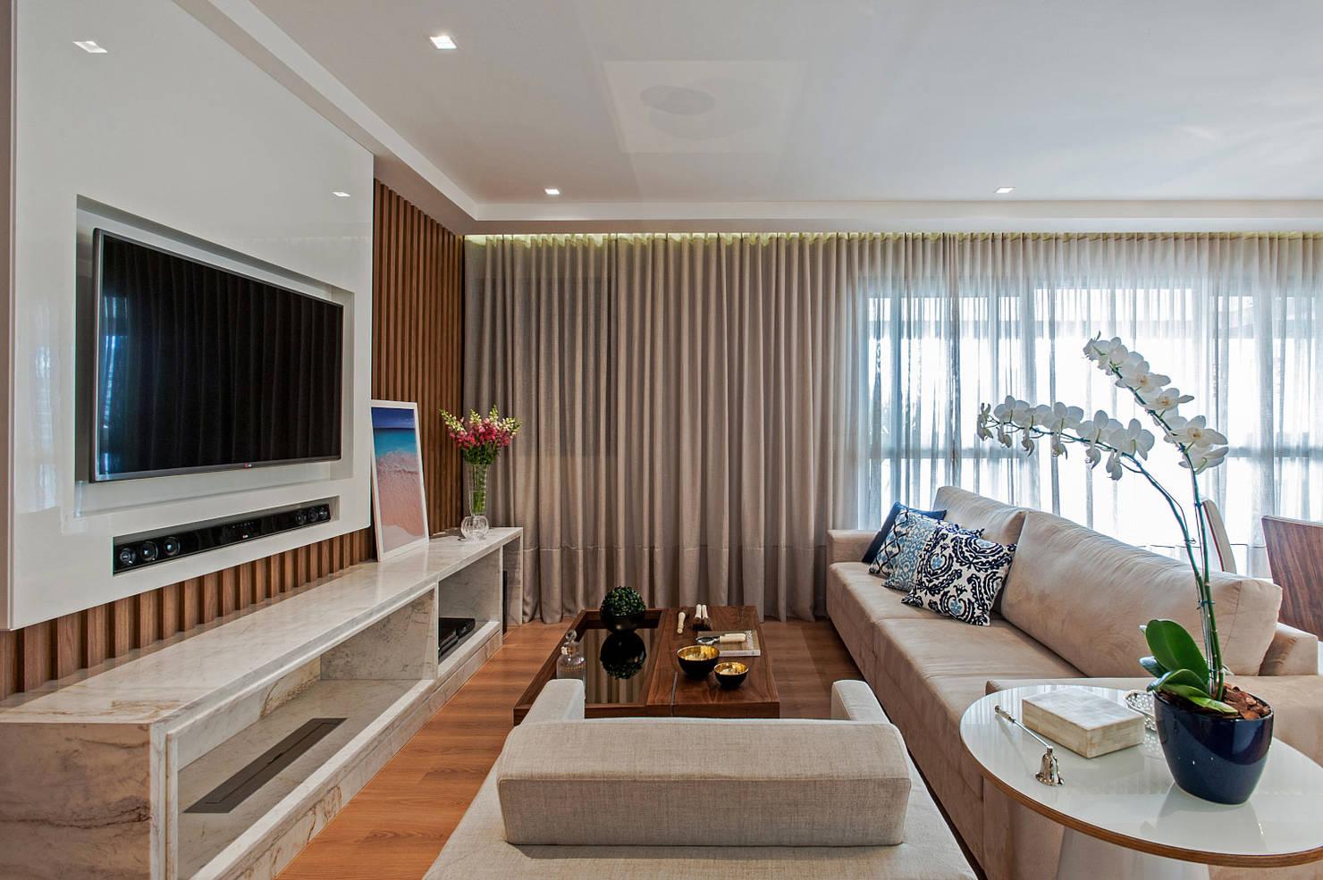 O Que Um Apartamento De 120 m² Tem A Ensinar À Casas Mais Modestas?