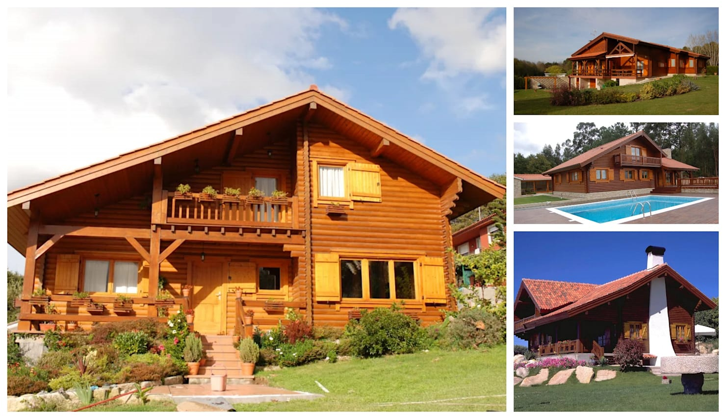 103 дома с деревянными фасадами