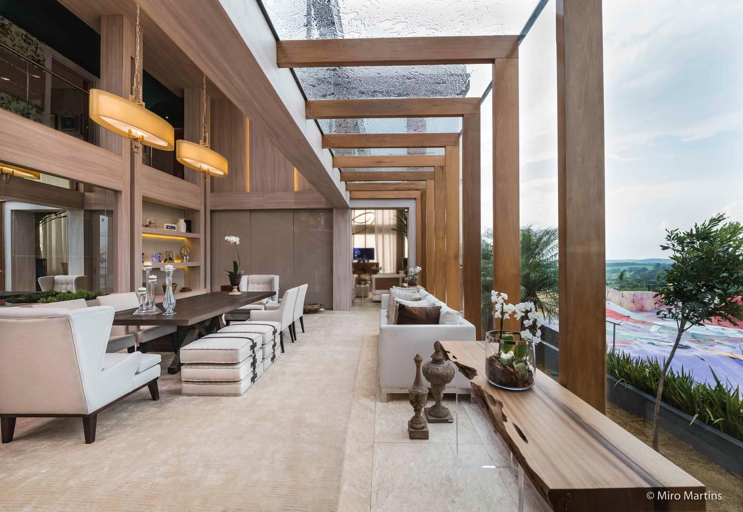 Casa linda e moderna em Campinas traz tranquilidade