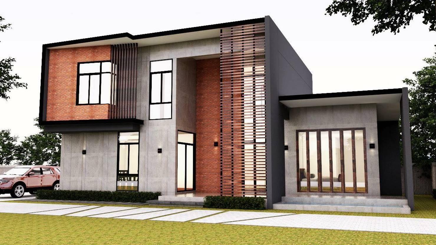 Planos de casas modernas en 3D