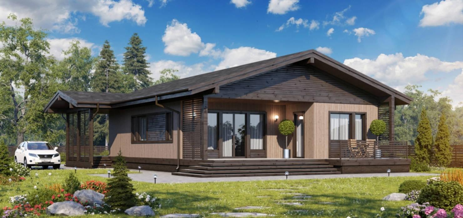 Московский проект дома за 2,3 млн рублей