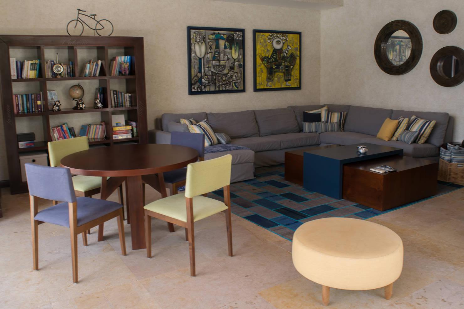 25 salas que te van a inspirar si tu casa es pequeña