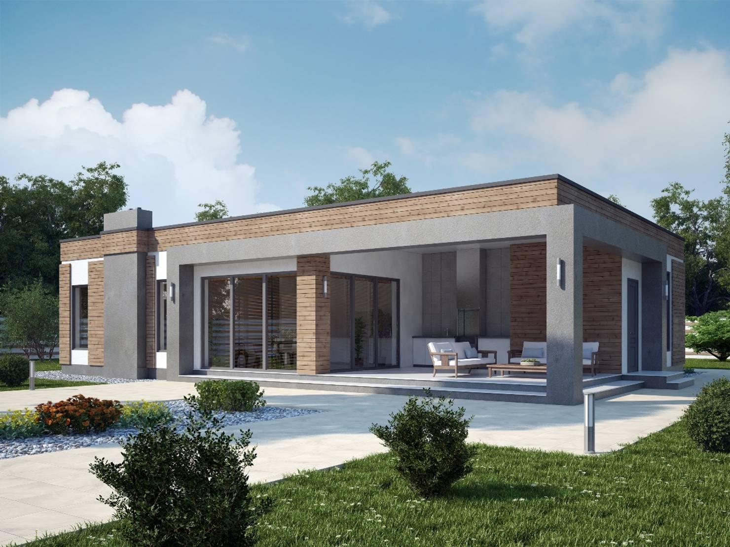 5 современных проектов домов: фото, планы