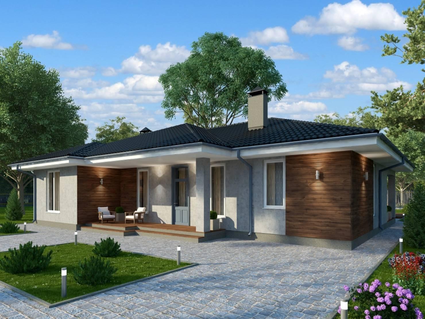 Современный проект дома с планировкой