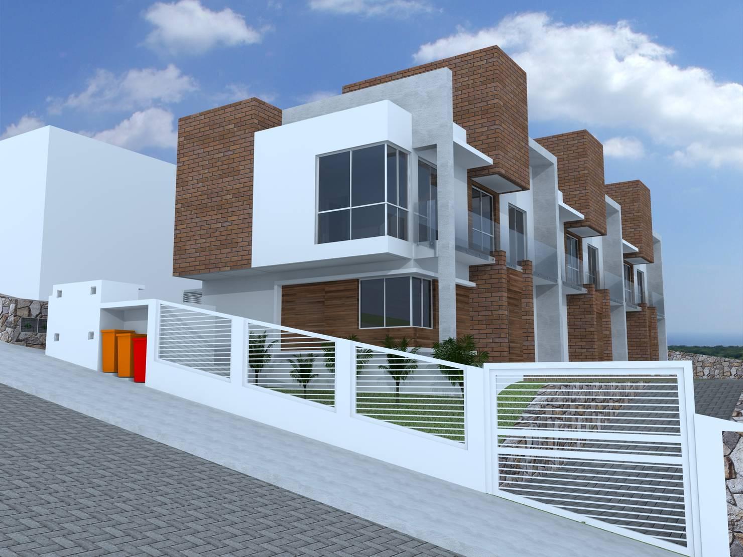 Projetos de casas geminadas: vantagens, desvantagens e modelos