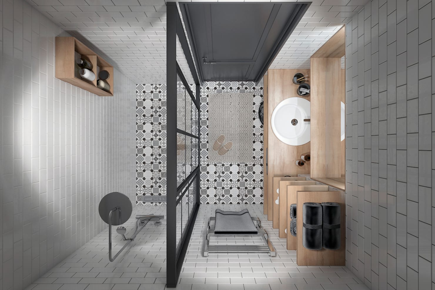 На фото - 20 pomysłów na piękną łazienkę
