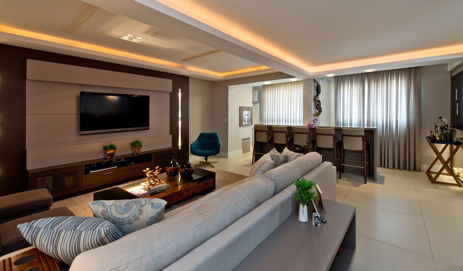 Maravilhoso e moderno: dois apartamentos transformados em um