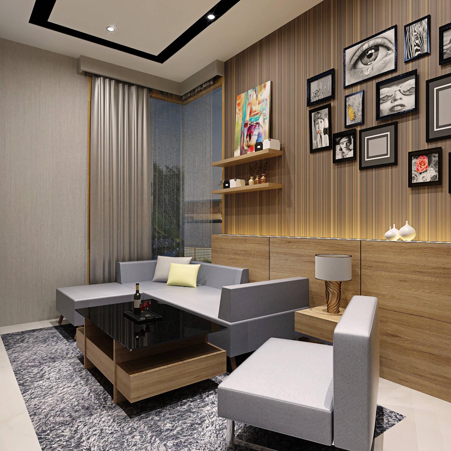 Дизайн интерьера дома в красивых тонах- фотографии