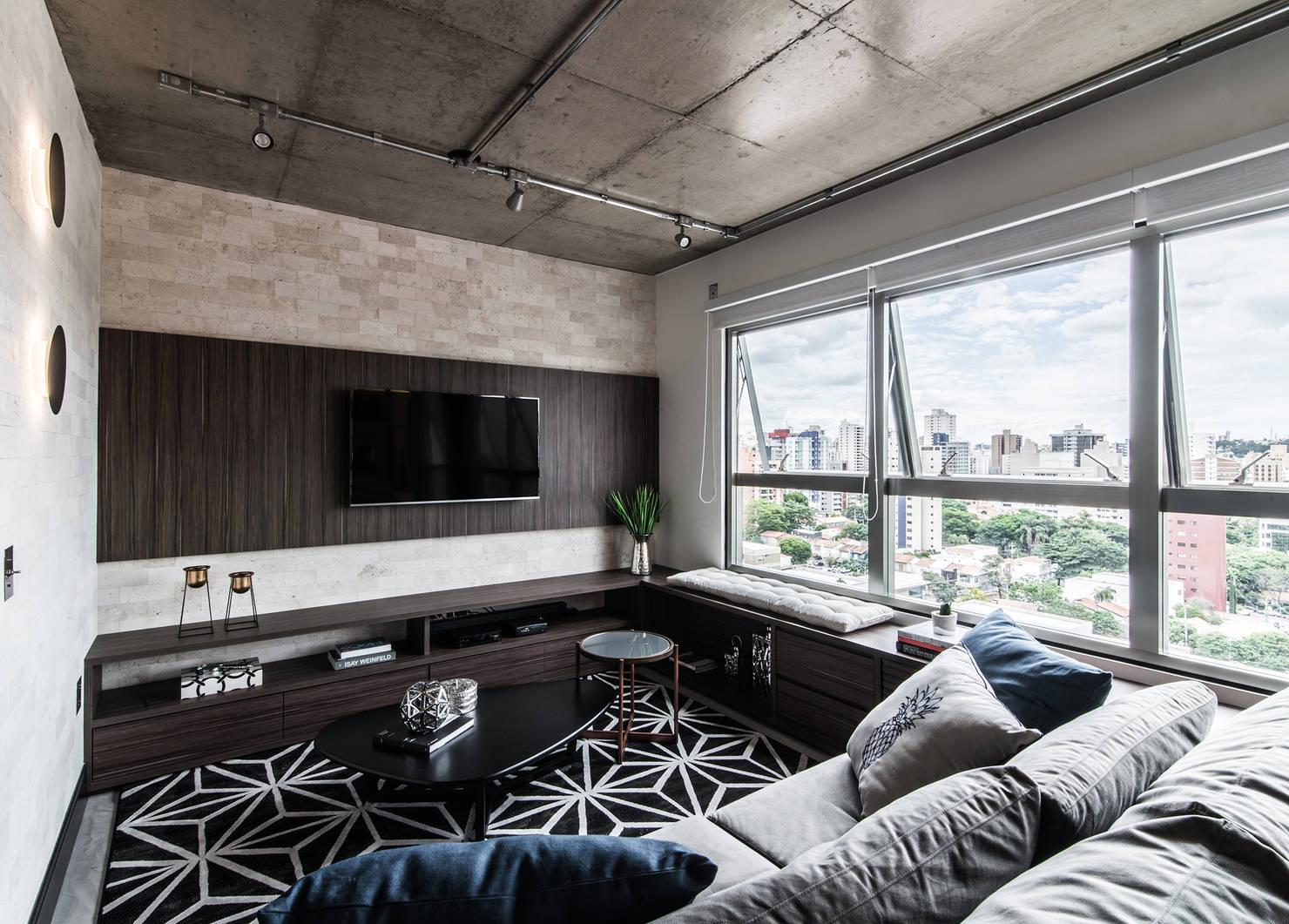 Esse apartamento em estilo industrial vai inspirar você para decorar todos os espaços da casa