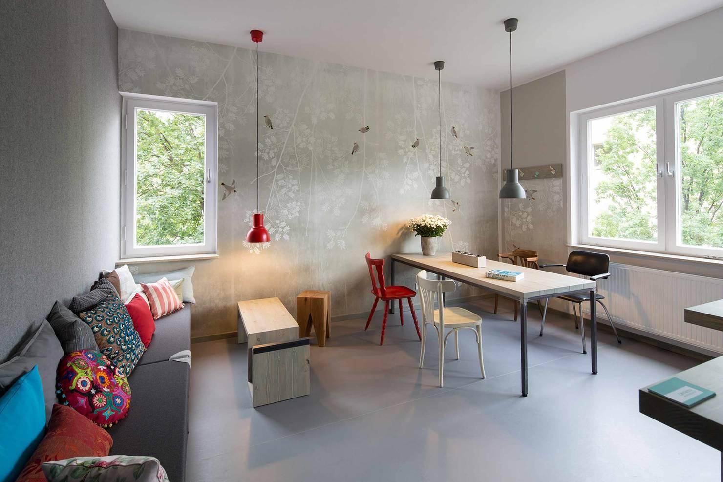 Berliner Interior Designer gestaltet Zahnarztpraxis mit Wohlfühlcharakter
