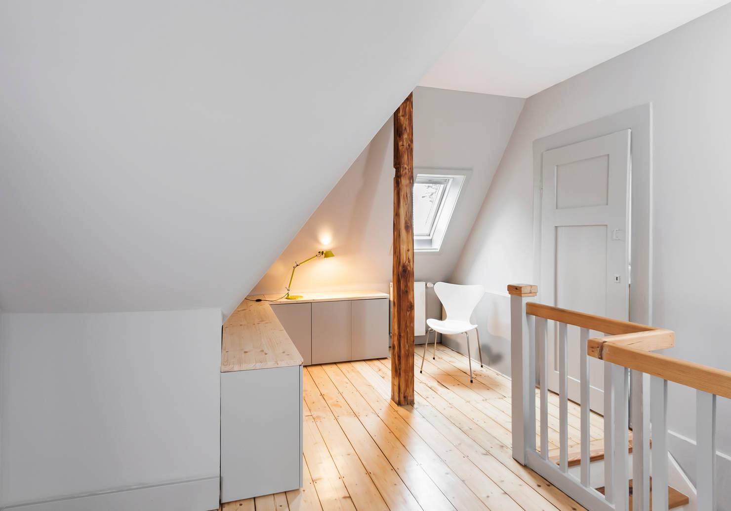 Modernes und funktionales Wohnen im Dachgeschoss