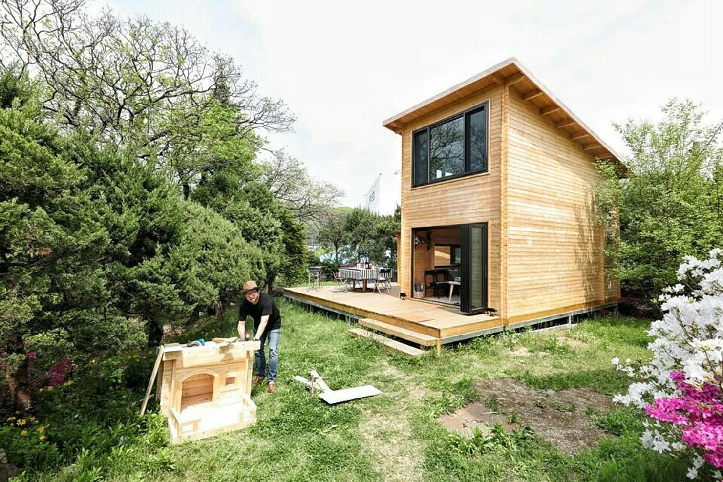 자연주의 삶, 노르웨이식 조립 원목 하우스