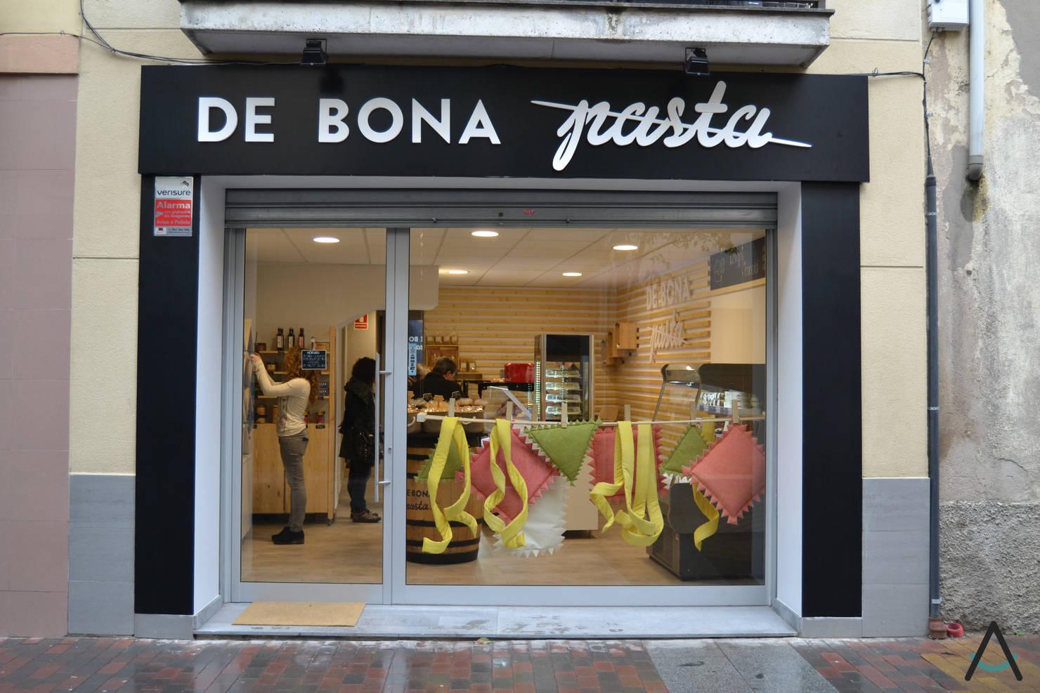 Diseño comercial para una tienda de alimentación en Barcelona