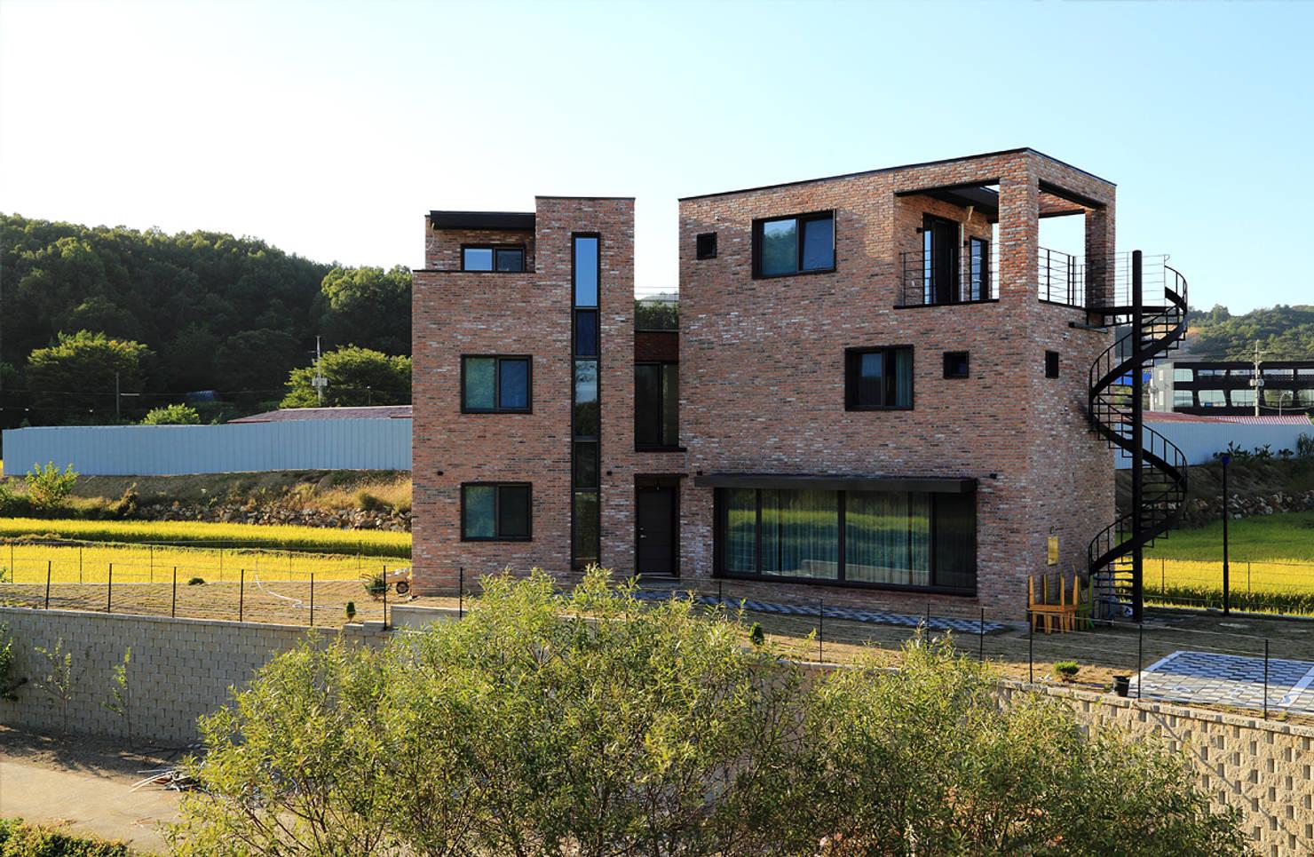 독특한 도시경관을 완성하는 부정형 대지의 주택 장단점 7
