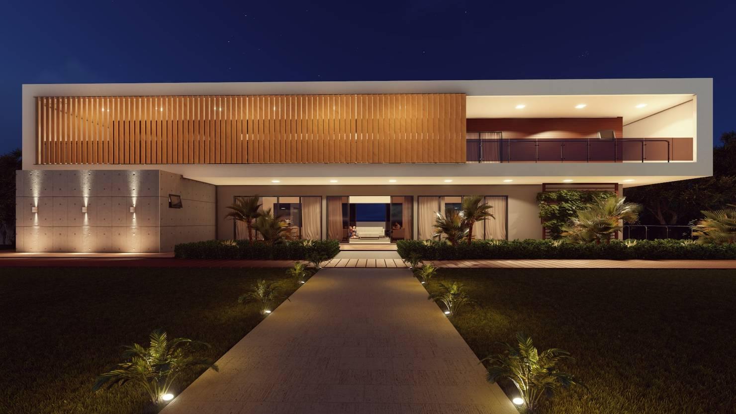 Arquitetura de casa contemporânea em Manaus