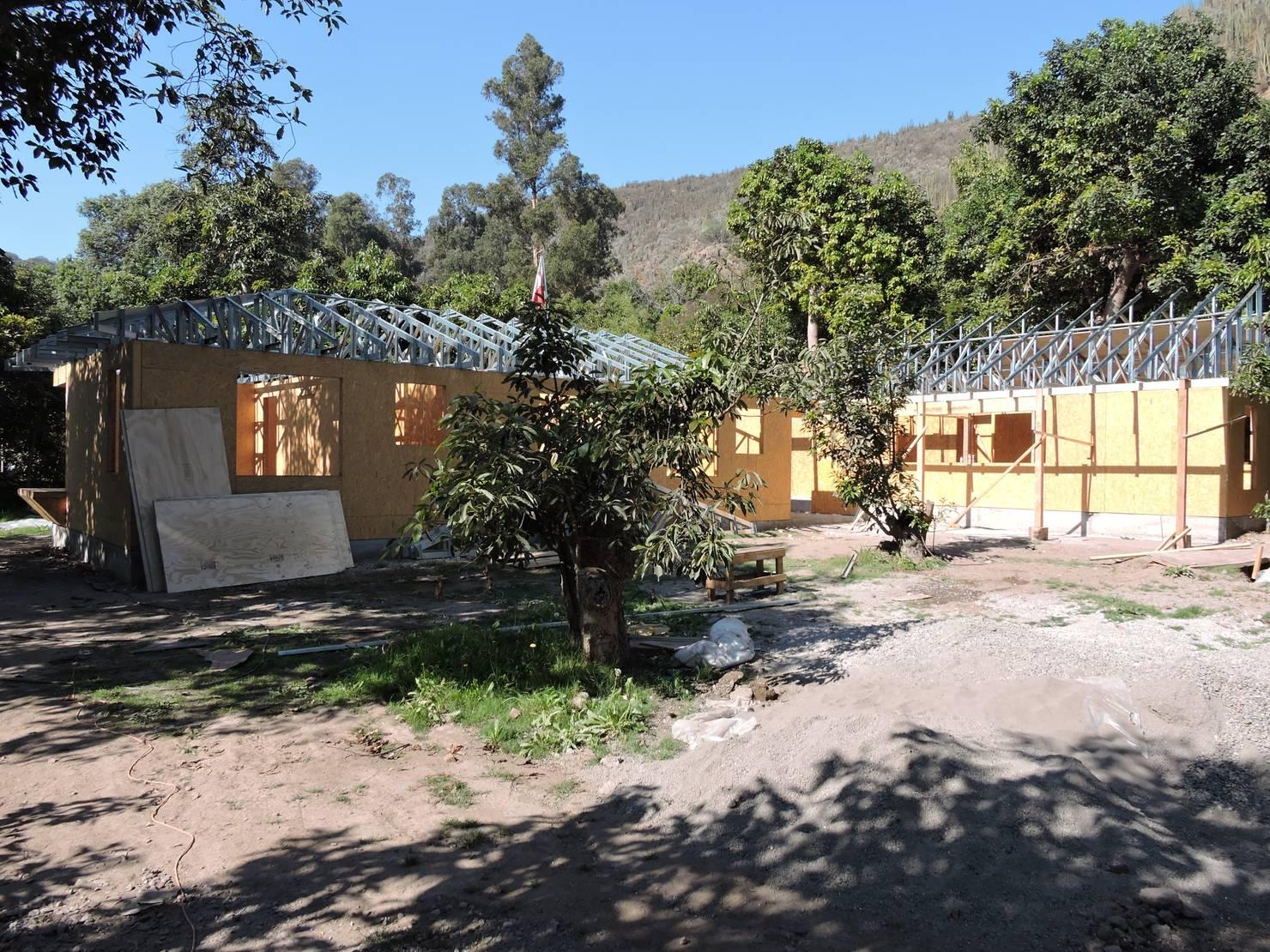 Diseño y construcción de casa con metalcon en Santiago