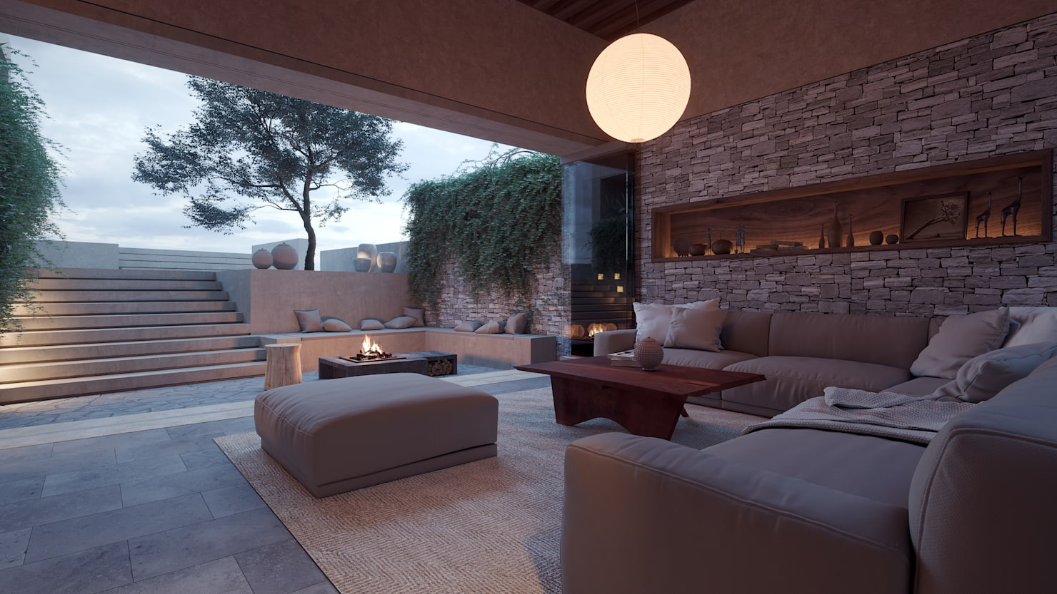 ¿Cómo tener una sala lounge en casa?