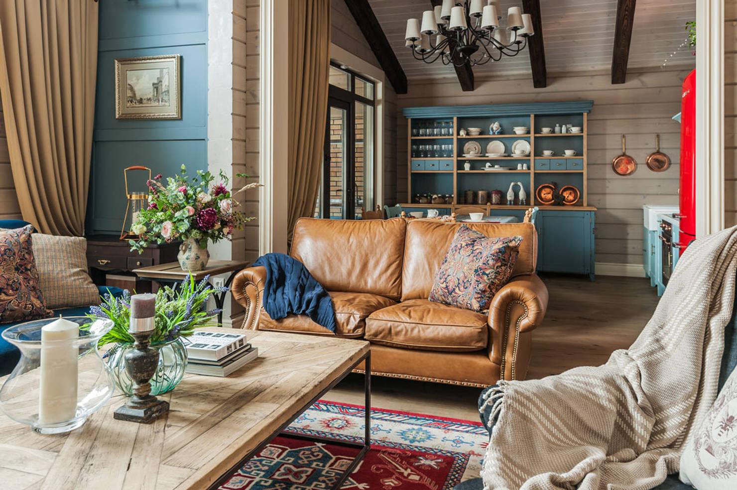 Деревянный потолок в дизайне интерьера: 8 фотоидей