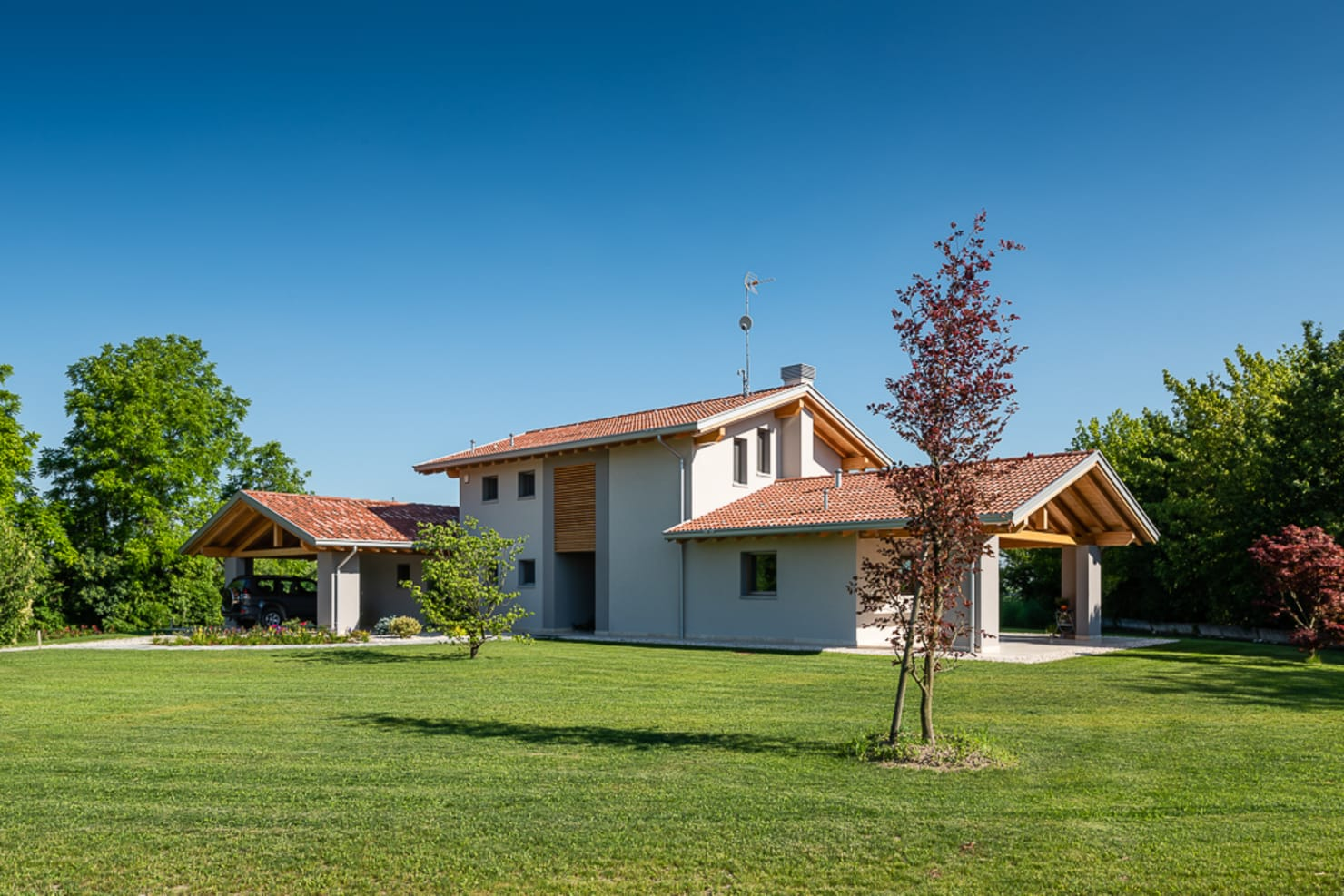 Costruzione Casa Sostenibile per Risparmio Energetico in Veneto