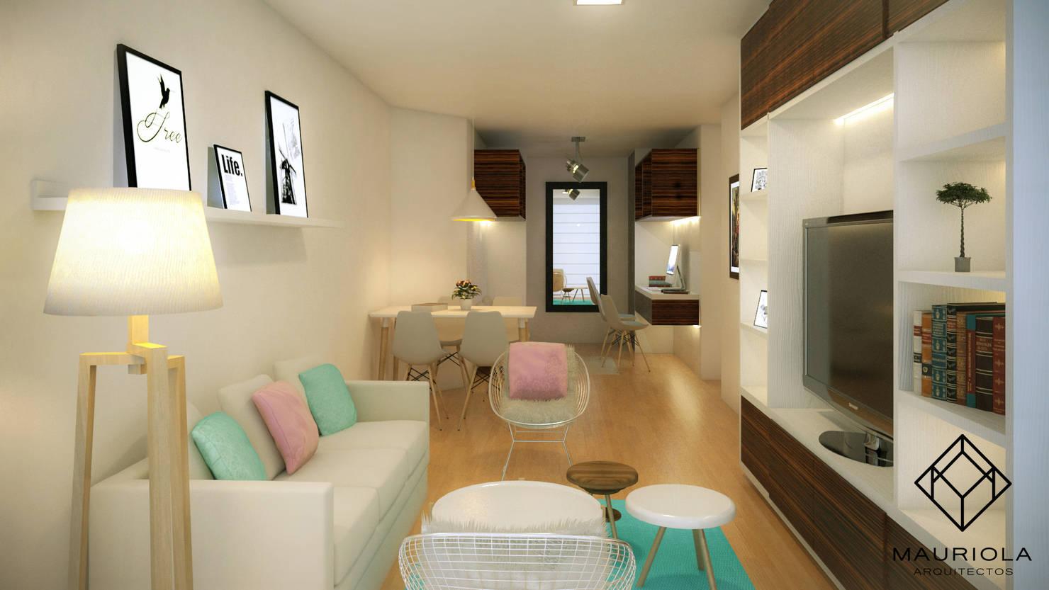 5 trucos para decorar un apartamento pequeño