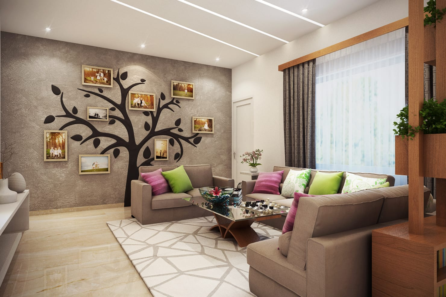 MARVEL ENIGMA:  Living room by Spaces Alive